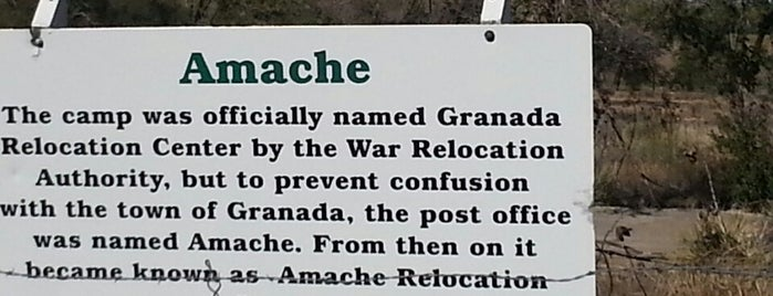 Camp Amache National Historic Landmark is one of Historical Sites, Museums.