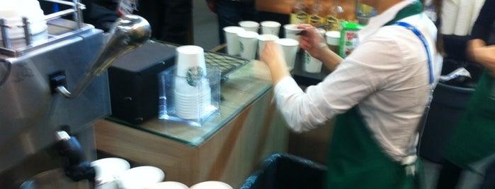 Starbucks is one of Sochi 2014.