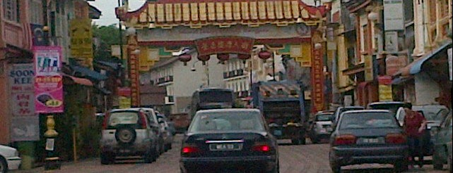Kampung Cina (Chinatown) is one of Attraction Places to Visit.