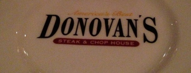 Donovan's Steak & Chop House - Gaslamp is one of San Diego - Not Tried.