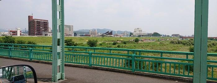 中橋 is one of 足利.