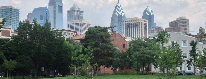 Schuylkill River Park is one of Philly Parks.