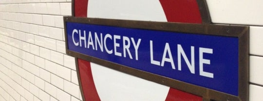 Chancery Lane London Underground Station is one of Went before 2.0.