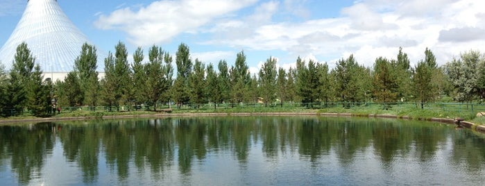 Ғашықтар саябағы / Парк влюблённых / Park of Lovers is one of Astana Great Outdoors.