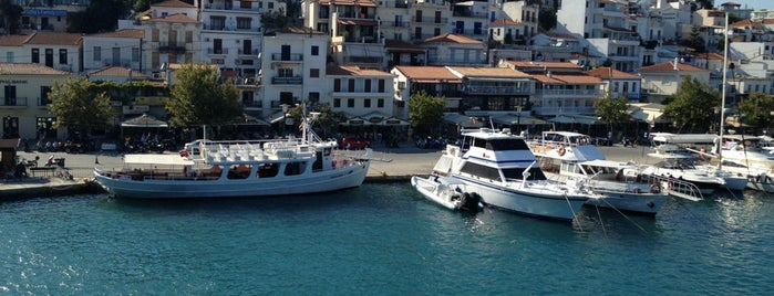 Skiathos Port is one of Lugares favoritos de Enis.