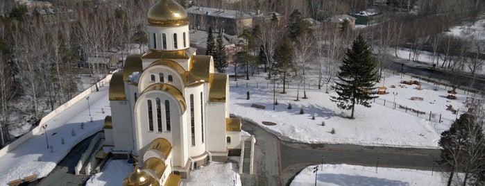 Храм Покрова Пресвятой Богородицы is one of Tempat yang Disukai Vlad.