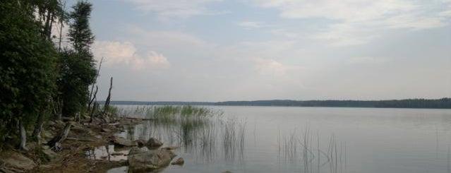 Пляж детского лагеря «Орлёнок» is one of Tempat yang Disukai Vlad.