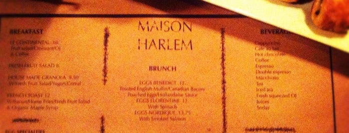 Maison Harlem is one of New York III.