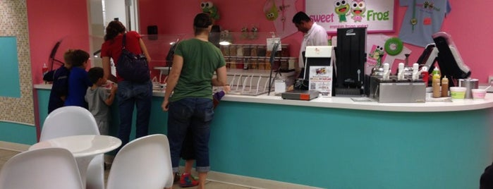 Sweet Frog is one of Rachelさんのお気に入りスポット.