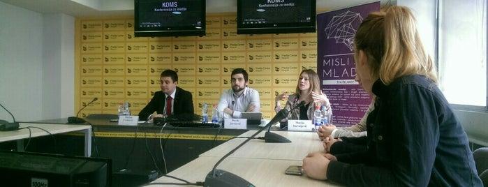 Medija centar is one of Ivan'ın Beğendiği Mekanlar.