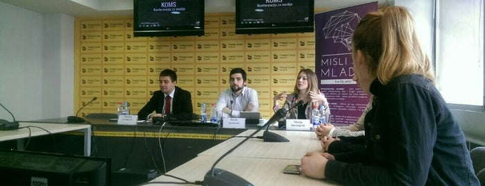 Medija centar is one of Ivan : понравившиеся места.
