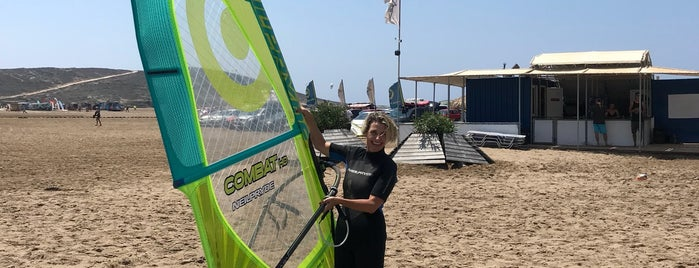 Pro Center Prasonisi is one of Kite spots.