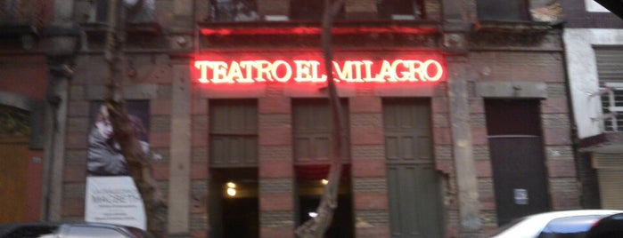 Teatro El Milagro is one of Lieux qui ont plu à @davidaustria.