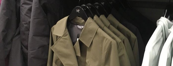 Arc'teryx is one of Vancouver.