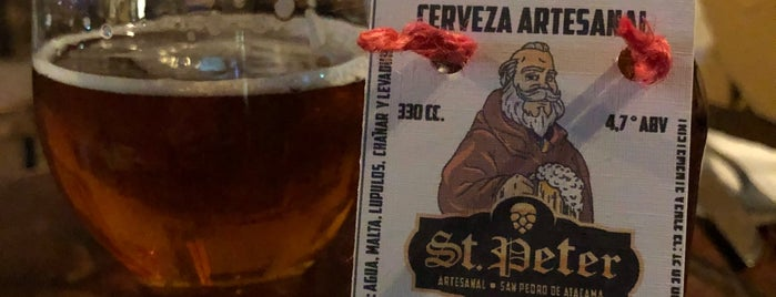 Cervecería artesanal St. Peter is one of Chile.