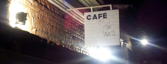 The Wall Café is one of places.