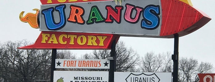 Uranus Fudge Factory And General Store is one of Route 66 Roadtrip.