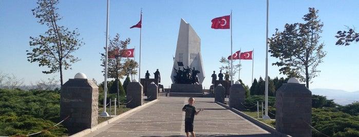 Duatepe Anıtı is one of Ankara.