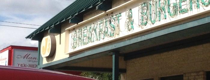 J's Breakfast & Burgers is one of Breffus.