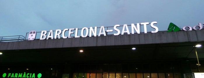 Bahnhof Barcelona-Sants is one of スペイン.