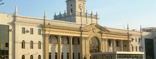 Ж/Д вокзал Краснодар-1 is one of Orte, die Vlad gefallen.