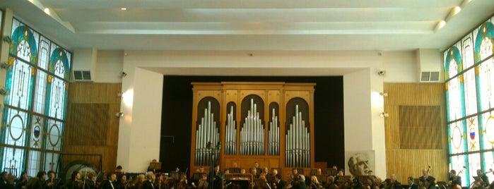 Муниципальный концертный зал органной и камерной музыки is one of Tempat yang Disukai Георгий.