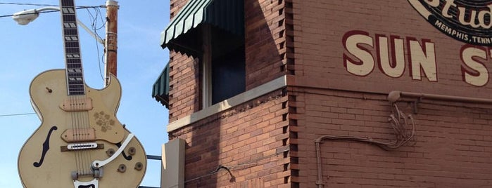 Sun Studio is one of Memphis.