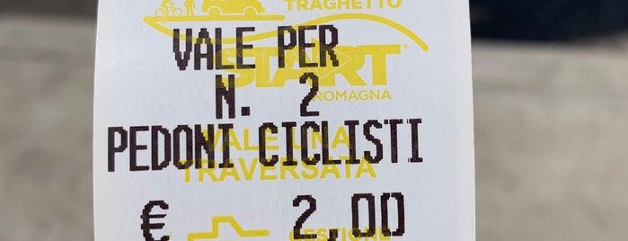 Traghetto sul Candiano is one of Riviera Adriatica 3rd part.