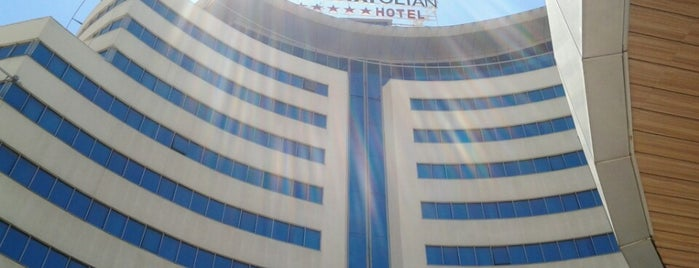 The Anatolian Hotel is one of Oteller.