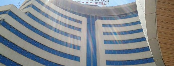 The Anatolian Hotel is one of Lugares favoritos de Cigo.
