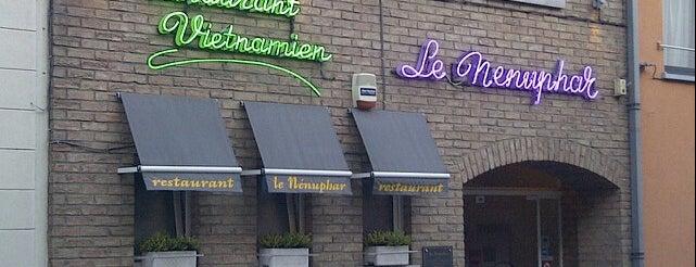 Le Nénuphar is one of สถานที่ที่บันทึกไว้ของ Menia.