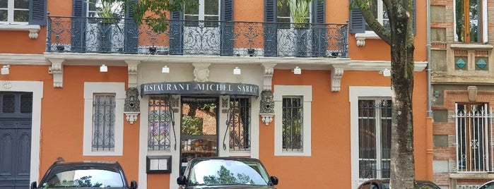 Michel Sarran is one of Toulouse.
