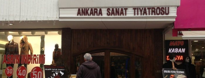 Ankara Sanat Tiyatrosu is one of Locais curtidos por Resul.