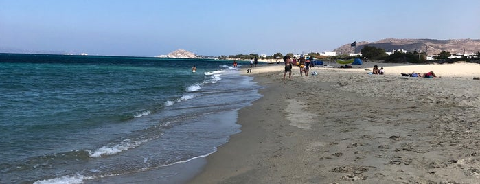 Glyfada beach is one of Beaches.