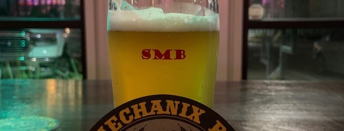 Skull Mechanix Brewery is one of Steve'nin Beğendiği Mekanlar.