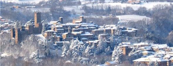Castell'Arquato is one of Gioielli d'Italia.