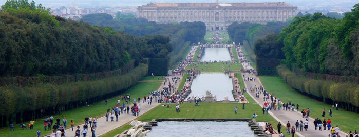 Reggia di Caserta is one of Neapol.