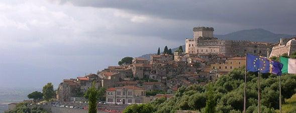 Sermoneta is one of Gioielli d'Italia.