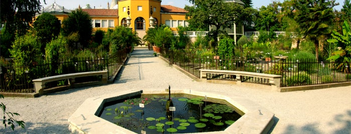 Orto Botanico is one of Lugares favoritos de Vyacheslav.