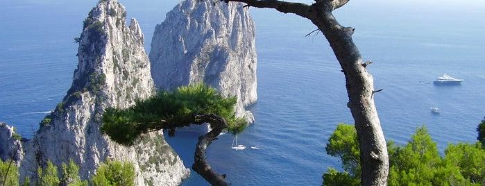 Faraglioni is one of A spasso per Capri - Napoli - Campania.