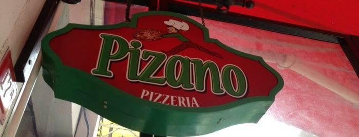 Pizano Pizzeria is one of Lugares favoritos de Caner.