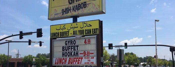 Shish-kabob Mediterranean Grill is one of Favorites.