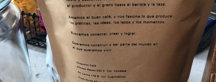 Chiquitito is one of Café.