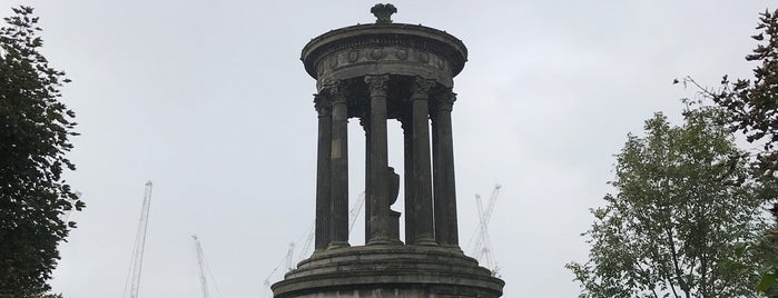 Dugald Stewart Monument is one of Edinburgh mit Mum.