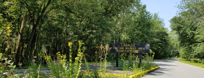LaSalle Fish and Wildlife Area is one of NWI.