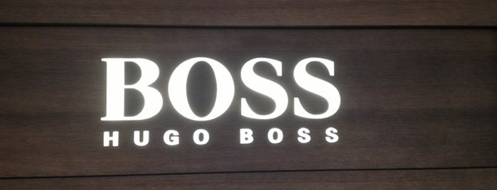 Hugo Boss is one of Joud's Liked Places.