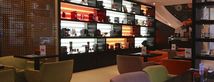 Nespresso Boutique is one of Fresh Brew: Top Stops for Manhattan Coffee.