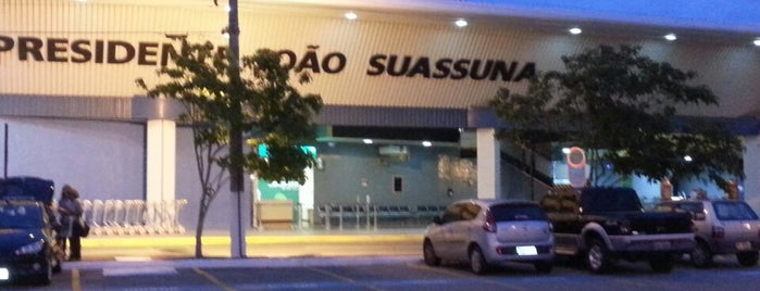 Aeroporto de Campina Grande / Presidente João Suassuna (CPV) is one of Aeroportos.