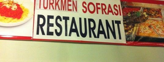 Türkmen Sofrası is one of Locais curtidos por Halil G..