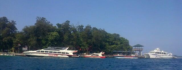 Pulau Putri is one of All TIP.
